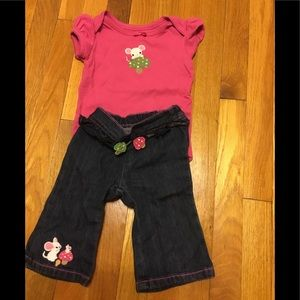 Gymboree outfit 3-6 months